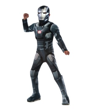 Civil War deluxe War Machine Boys Costume