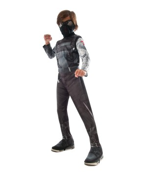 Civil War Winter Soldier Boys Costume