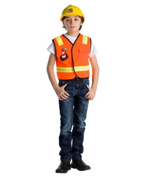 Construction Worker Boys Costume