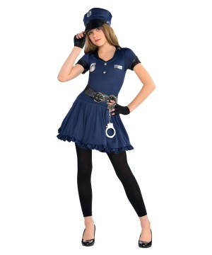 Cop Cutie Girl Costume