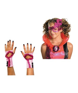 Couture Masquerade Mask and Glovettes Girls Set
