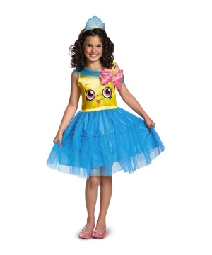Girls Cupcake Queen Classic Costume