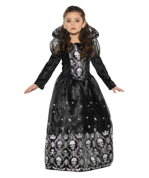 Dark Princess Girls Costume