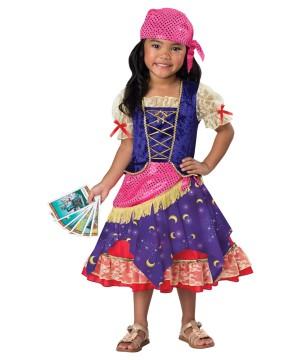 Darling Gypsy Girls Toddler Costume