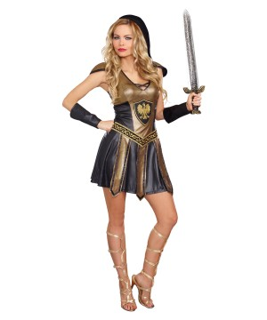 Deadly Warrior Women Costume