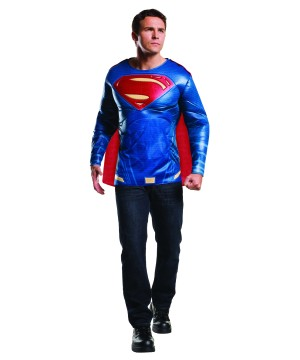 Batman V Superman deluxe Superman Shirt and Cape
