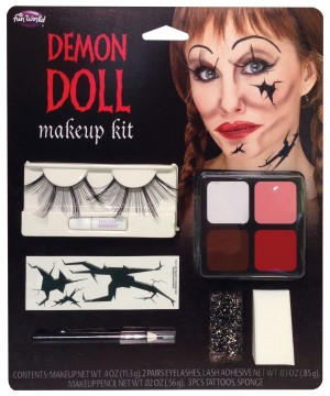 Demon Doll Face Makeup Kit