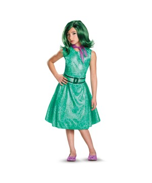 Disney Inside Out Disgust Girls Costume