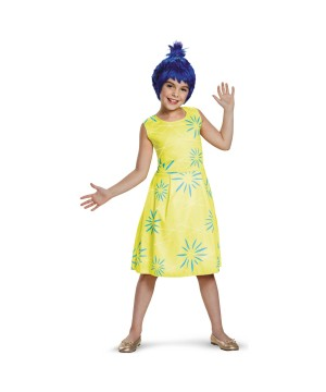 Disney Inside Out Joy Girls Costume