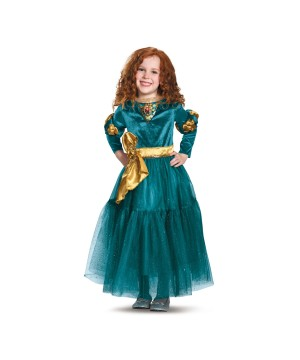 Disney Merida Girls Costume deluxe