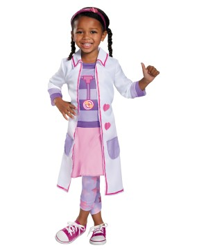 Doc Mcstuffins Hospital Girls Disney Costume