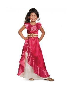 Elena Adventure Dress Classic Girl Costume