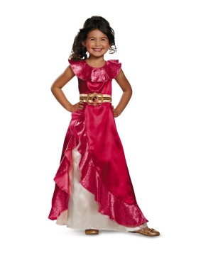 Elena of Avalor Adventure Dress Girl Disney Costume