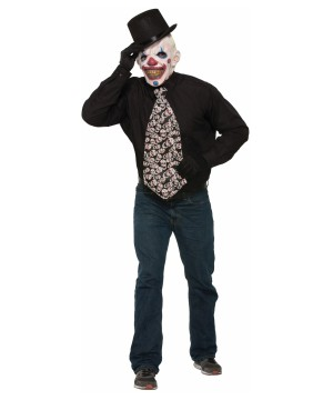 Evil Clown Jumbo Long Tie
