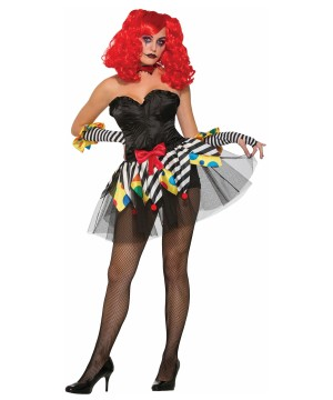 Evil Clown Tutu Women
