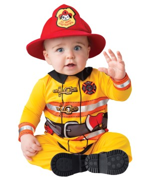 Fearless Firefighter Baby Costume