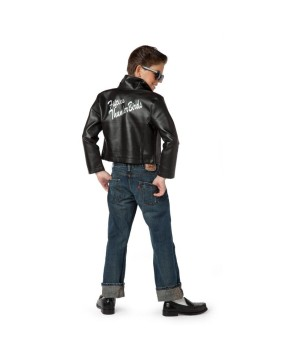 Fifties Thunderbird Jacket Boys Costume