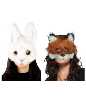 Fox and Bunny Chase Mask Kit