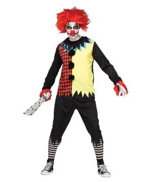 Freak Show Clown Men Costume