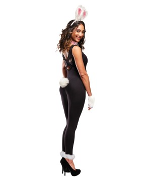 Furry Bunny Instant Costume Women Kit
