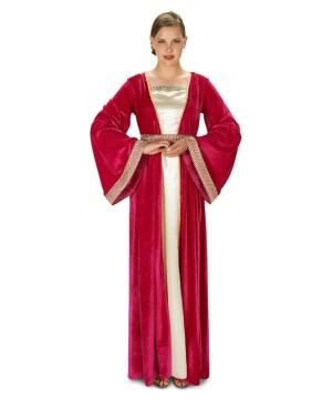 Fuschia Renaissance Lady Women Costume