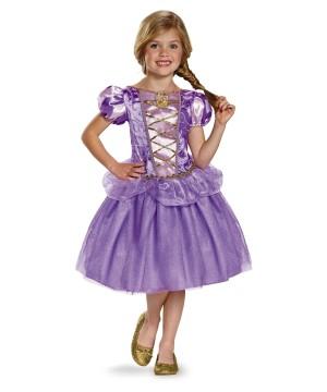 Girls Rapunzel Classic Costume