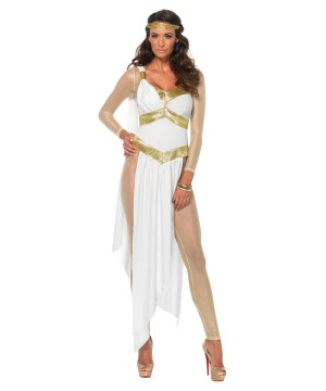 Golden Goddess Women Costume
