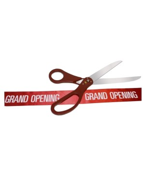 Grand Opening Scissor Ribbon Kit