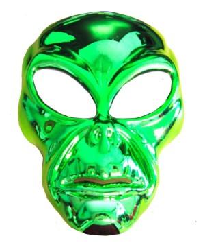 Green Alien Movie Mask