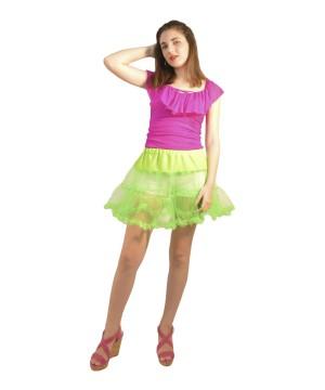 Green Tutu Petticoat