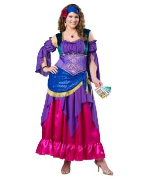 Gypsy Treasure plus size Women Costume