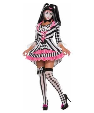 Harlequin Ring Mistress Women Costume