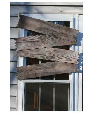 Haunted Window Boards