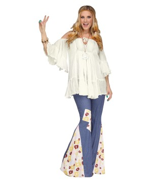 Hippie Gauze Top Women Blouse