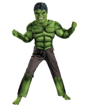 Hulk Avengers Boys Costume