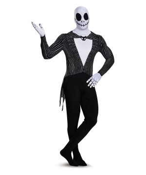 Jack Skellington Bodysuit Costume