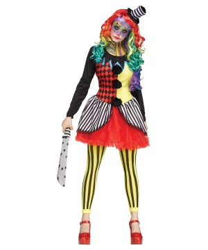 Killer Clown Women Costume