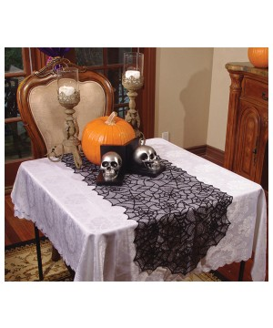 Lace Spider Table Runner