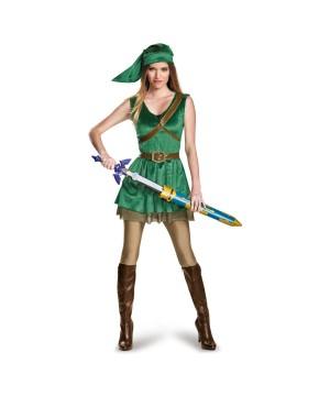 Legend of Zelda Link Girls Teen Costume