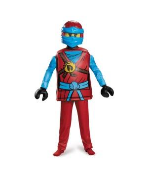 Lego Ninjago Nya Boys Costume