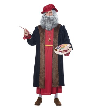 Leonardo Da Vinci Men Costume