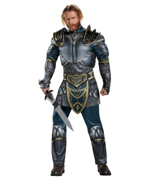 Warcraft Lothar Classic Muscle Men Costume