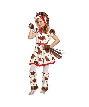 Lucy Appaloosa Pony Girls Costume