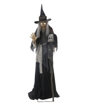 Lunging Haggard Witch Animated