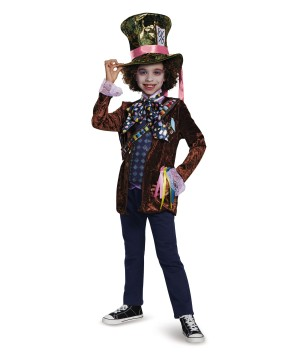 Mad Hatter Classic Boys Costume