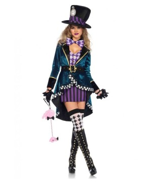 Delightful Mad Hatter Women Costume