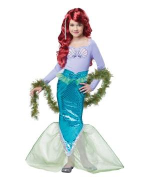Magical Mermaid Girls Costume