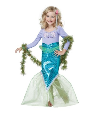 Magical Mermaid Toddler Costume