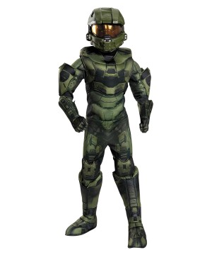 Master Chief Boys Costume Prestige