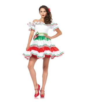 Sultry Mexican Senorita Women Costume
